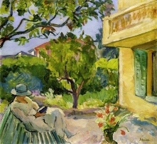 Painting by Henri Lebasque