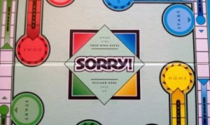 Sorry game board