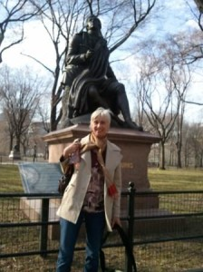Joannie in Central Park