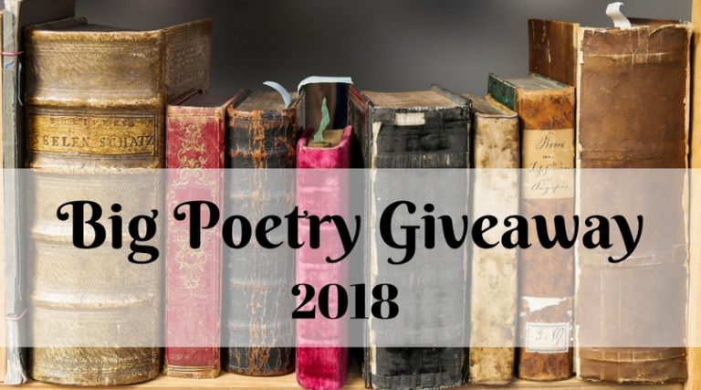 poetry giveaway image of books