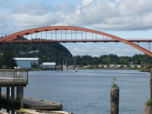 Bridge across the Swinomish Channel