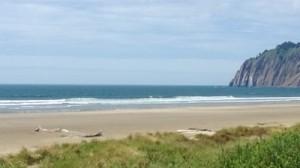 beach, ocean, bluff